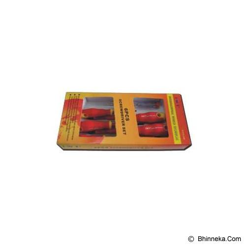 IWT Obeng Set Listrik 6 Pcs [S-EDS-06B] - Obeng Elektrik